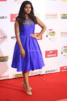 Eesha in Cute Blue Sleevelss Short Frock at Mirchi Music Awards South 2017 ~  Exclusive Celebrities Galleries 043.JPG