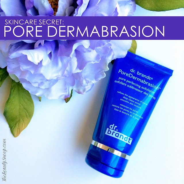scrubs for large facial pores, dr brandt pore dermabrasion review