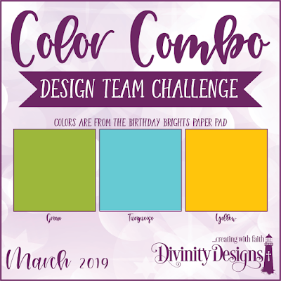 Divinity Designs Color Combo Design Team Challenge March