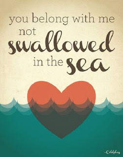 Coldplay Lyrics - Swallowed In The Sea