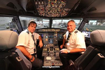 Spirit Airlines Guayaquil Crew