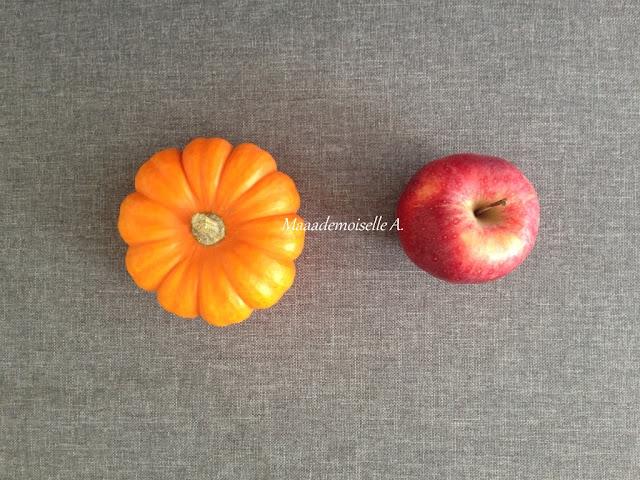 || Table des saisons : L'automne - Potiron et pomme