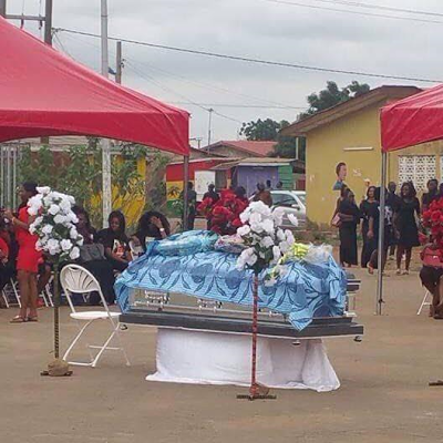 Ghanaian model Belinda Asiamah laid to rest in Accra amidst tears
