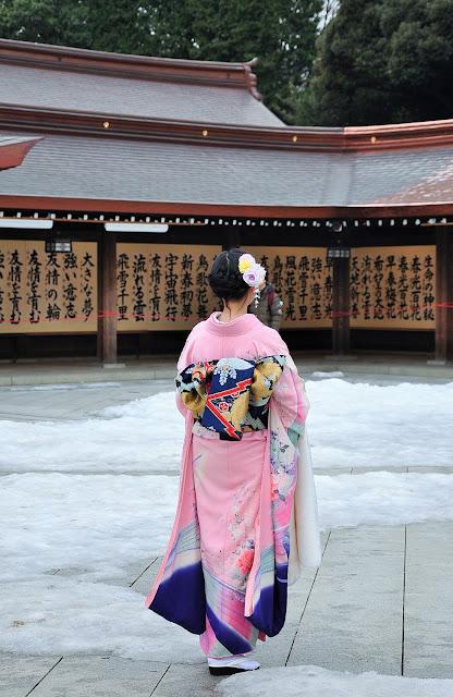 meiji shrine kimono