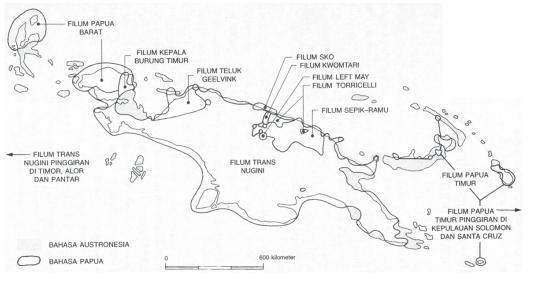 Karakteristik dan Wilayah Penyebaran Bahasa-Bahasa di Indonesia