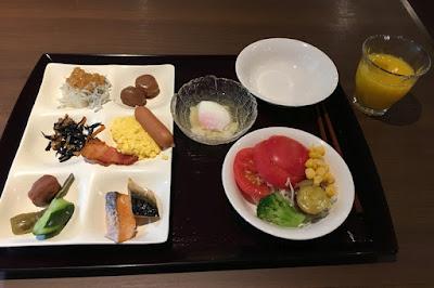 宝川温泉 朝食