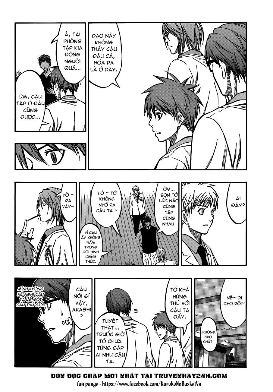 Kuroko No Basket chap 205 trang 18
