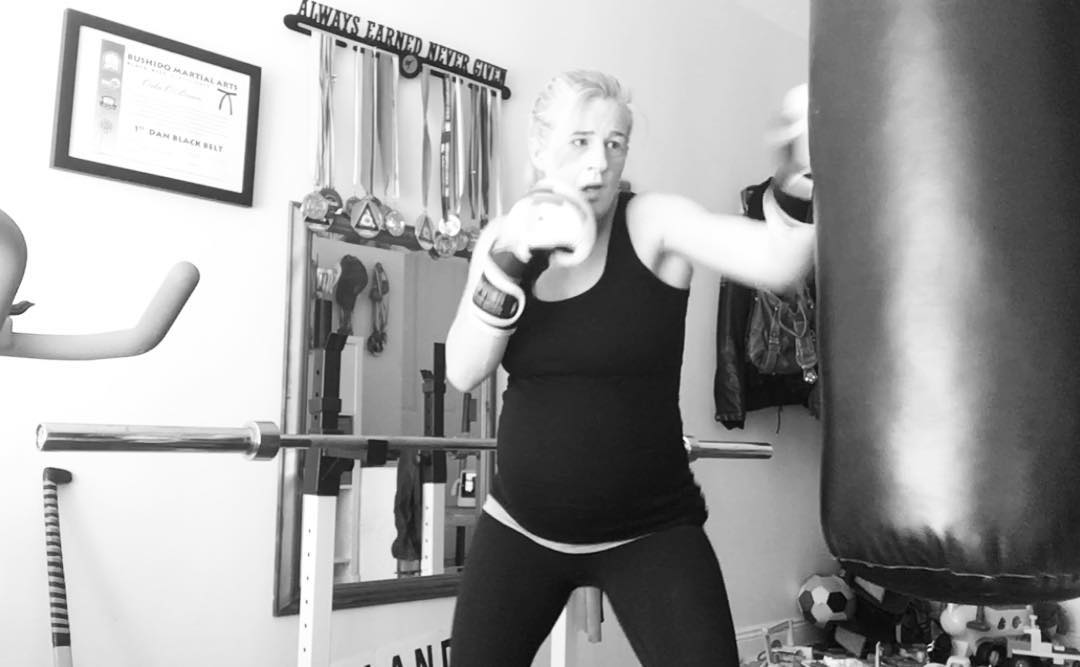 Kickboxing while pregnant fit pregnant