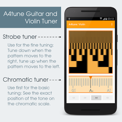 Get A4tune from Google Play.