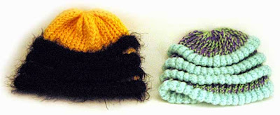 Knifty Knitter Bee Hat