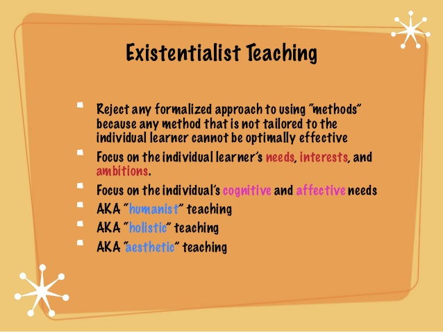 teaching existentialism