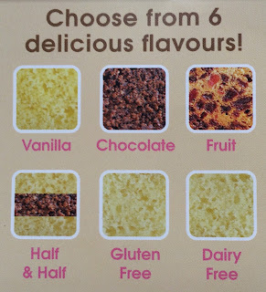 BakerDays cake flavours