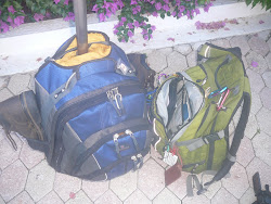 Packing Light for 45 days in Central America --light backpack and light rolling carryon