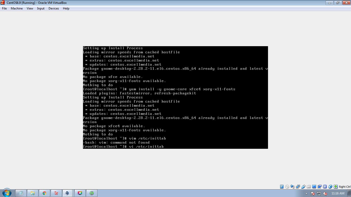 Install GUI Environment on CentOS 6 - AdminCool