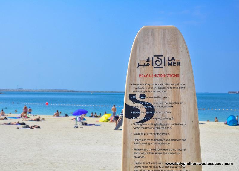Public Beach In La Mer Dubai