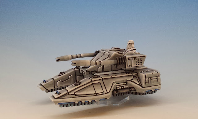SC2-M Repulsor Tank, Imperial Assault (2016), painted miniature