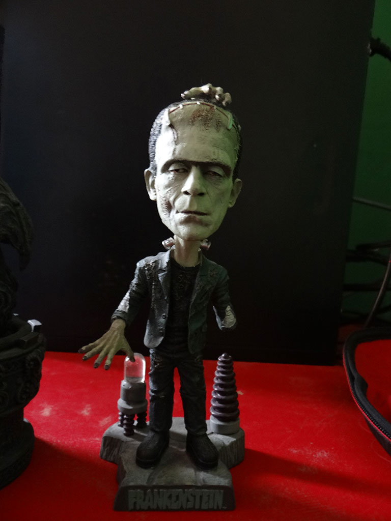 Frankenstein, bubblehead, Mary Shelly, monstruo, monster, clásico, literatura, figura