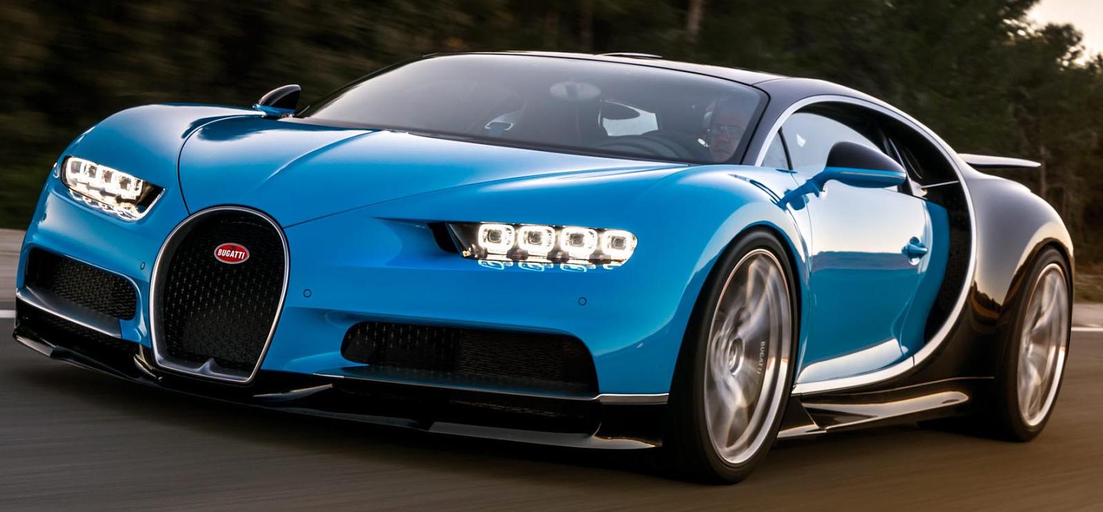 Canada Stock Journal: Bugatti Chiron - World\'s Fastest Production Car