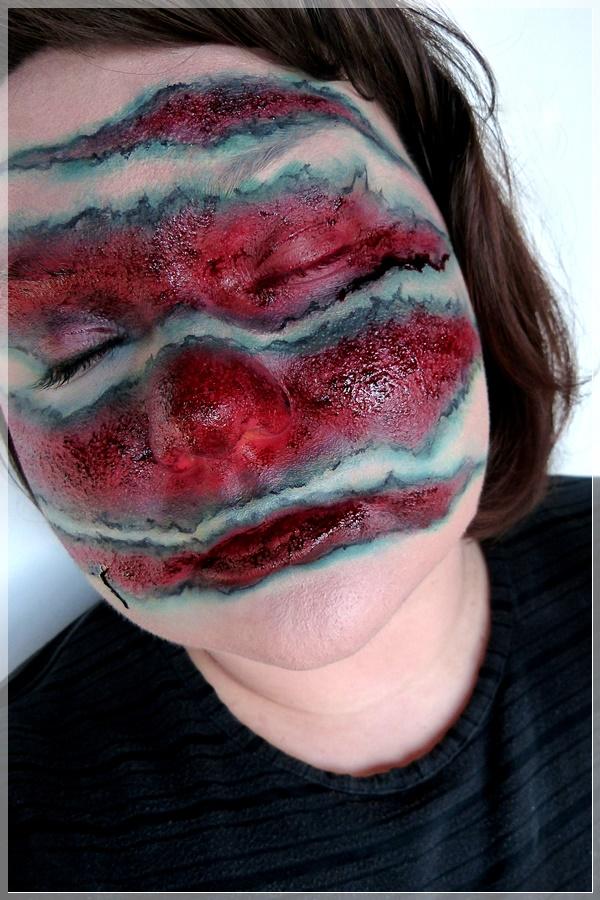 Sectumsempra Schnittwunden makeup look