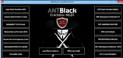 ANT Black Box No.03 2017 FRP Bypass Full Setup Free Download