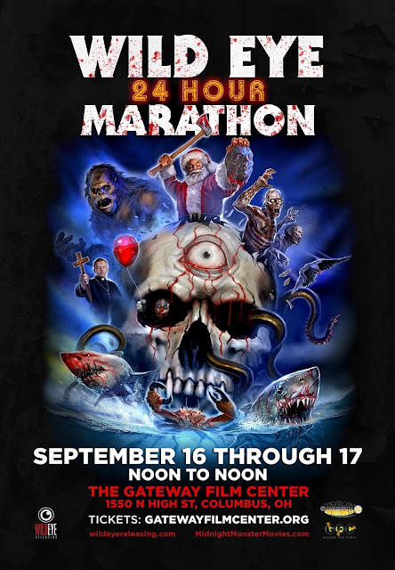 wild eye movie marathon poster