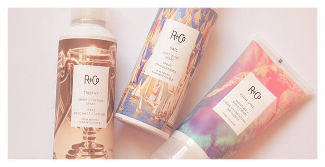 R+Co prodotti per capelli