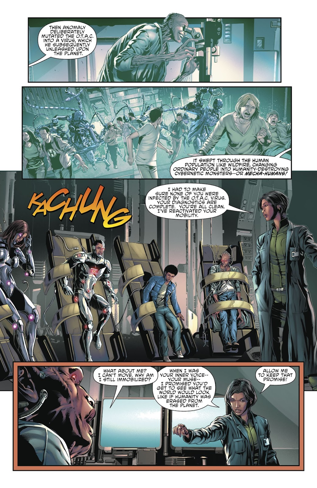 Read online Cyborg (2016) comic -  Issue #14 - 22
