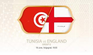 خسارة قاتلة لمنتخب تونس امام إنجلترا الملخص والاهداف ,هدف قاتل للانجليز ثنائية لكين