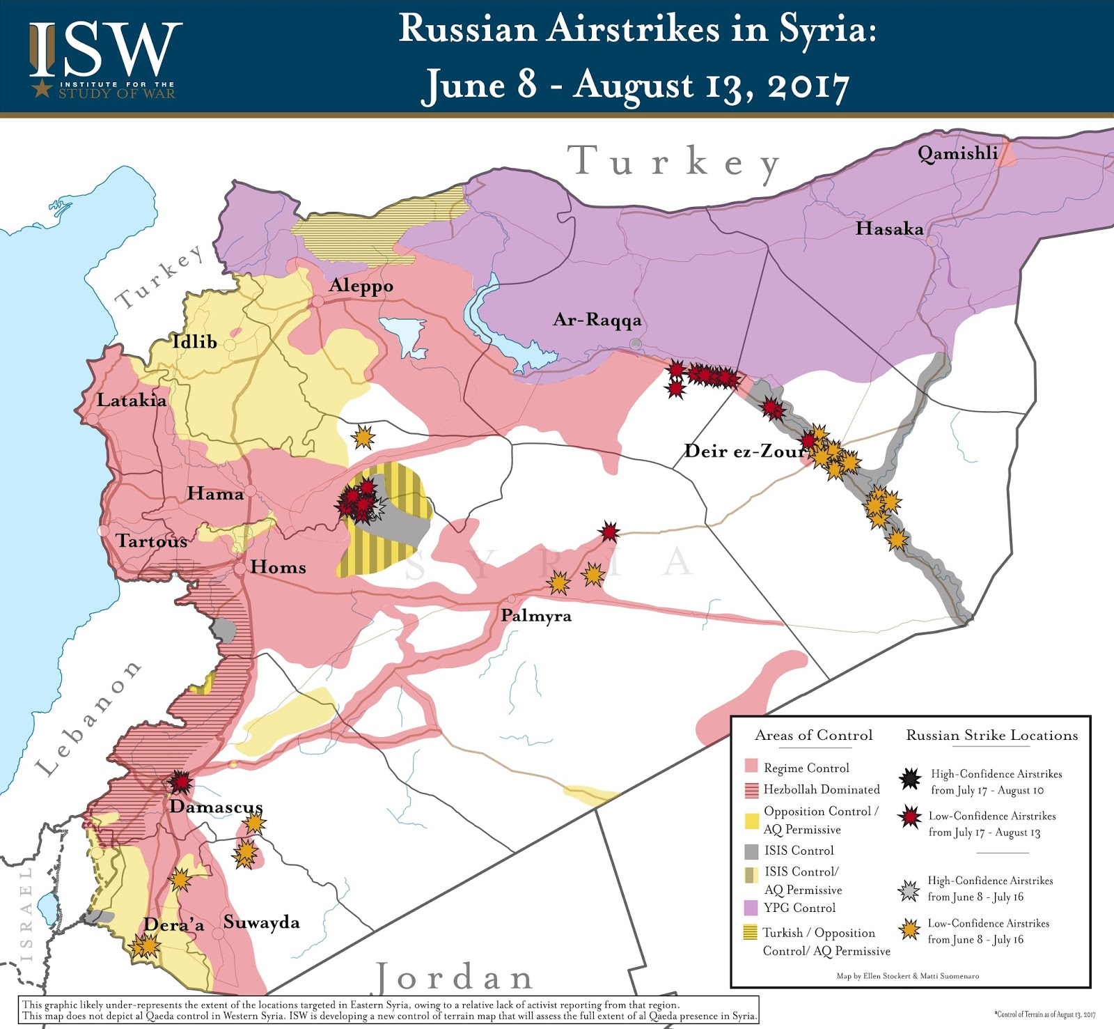 Russia's Syria Mirage: July 17 - August 13, 2017