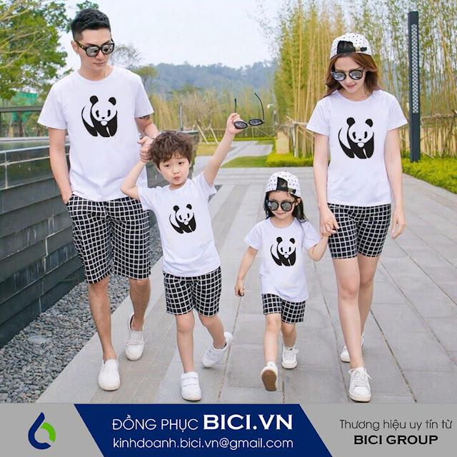 mẫu áo đồng phục gia đình 11