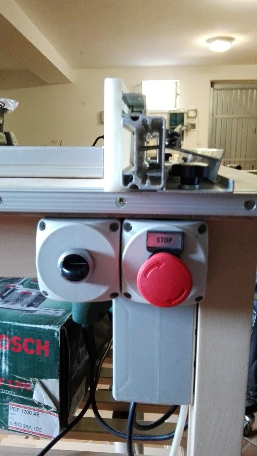 Boxedcnc router table with power lift built around ikea bekvm and router is a bosch pof 1200 router table is equipped with power lift feature missing only router support in the photos greentooth