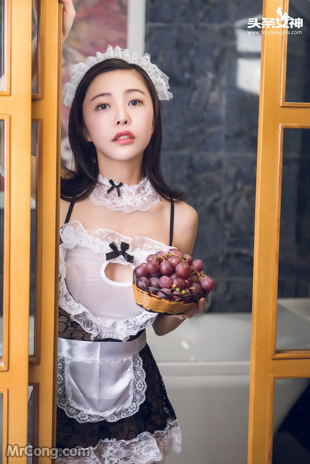 Image MrCong.com-TouTiao-2016-12-23-Xiao-Ai-003 in post TouTiao 2016-12-23: Người mẫu Xiao Ai (小爱) (22 ảnh)