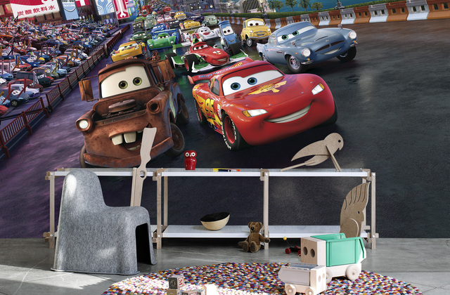 Disney Cars Wall Mural Wallpaper