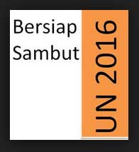 mari berlatihan soal UN 2016 online, mata pelajaran Bahasa Indonesia SMP / MTs.