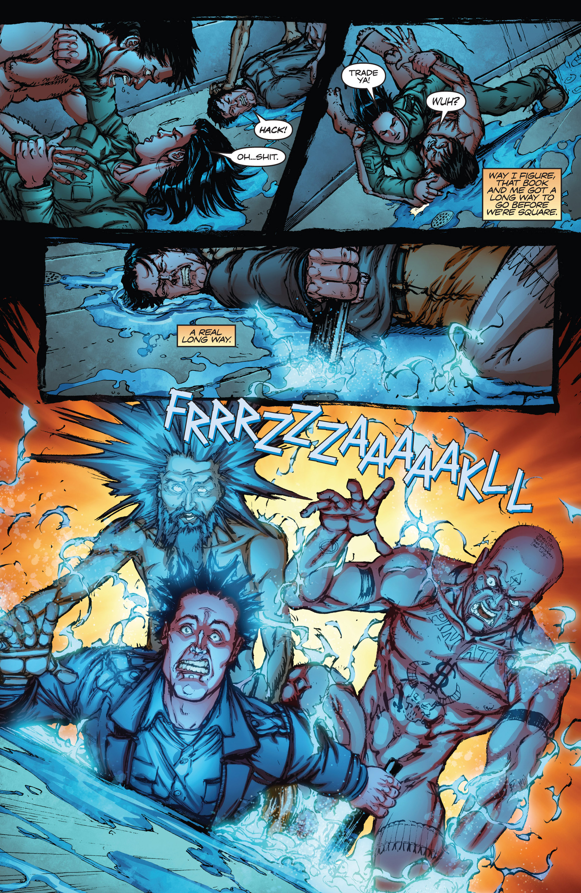 Read online Army of Darkness vs. Hack/Slash comic -  Issue #2 - 17