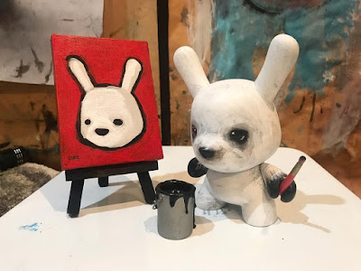 "Designer Con 2018 Exclusive ""This Joke Isn't Dunny Anymore"" Custom Dunny 5"" Vinyl Figure Series by Luke Chueh"