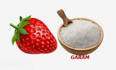 Strawberry dan Garam