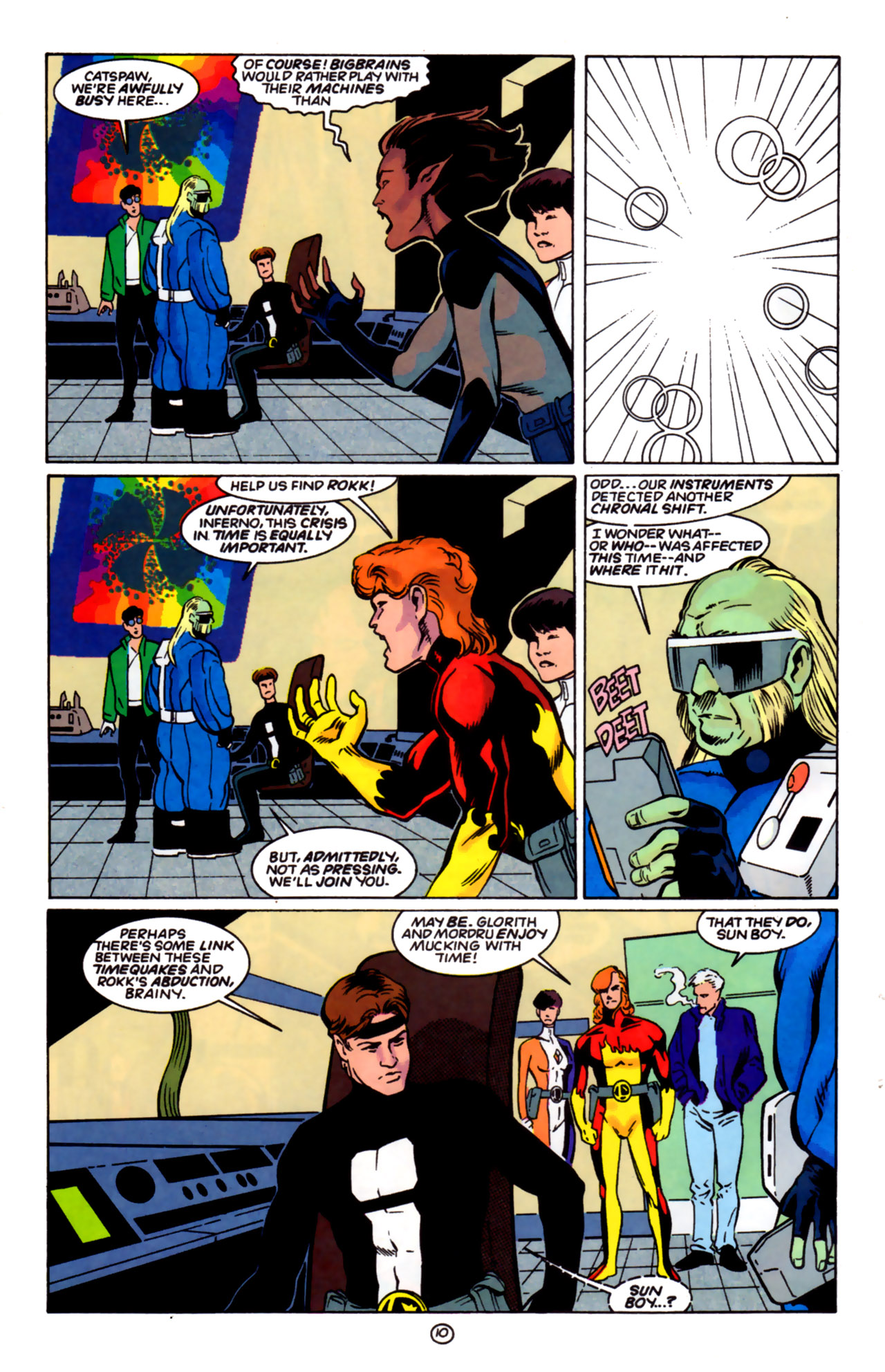 Legion of Super-Heroes (1989) 60 Page 10