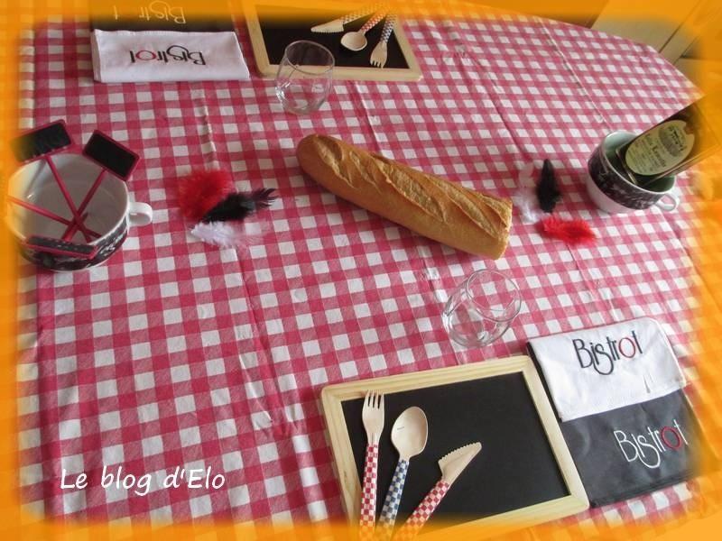le blog d 39 elo d co de table bistrot parisien. Black Bedroom Furniture Sets. Home Design Ideas