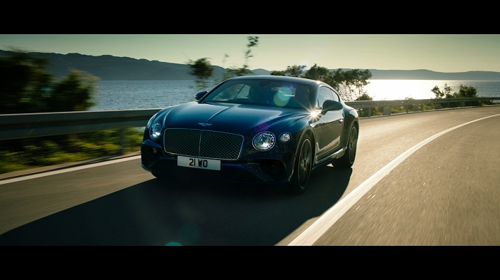 Bentley Continental Shows Off Prowess In HighlyAnticipated Launch - Show me a bentley car
