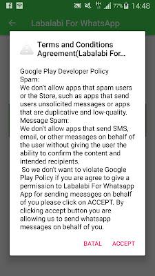 Jahil Abis…Cara Kirim Boom Chat (Spam) WhatsApp