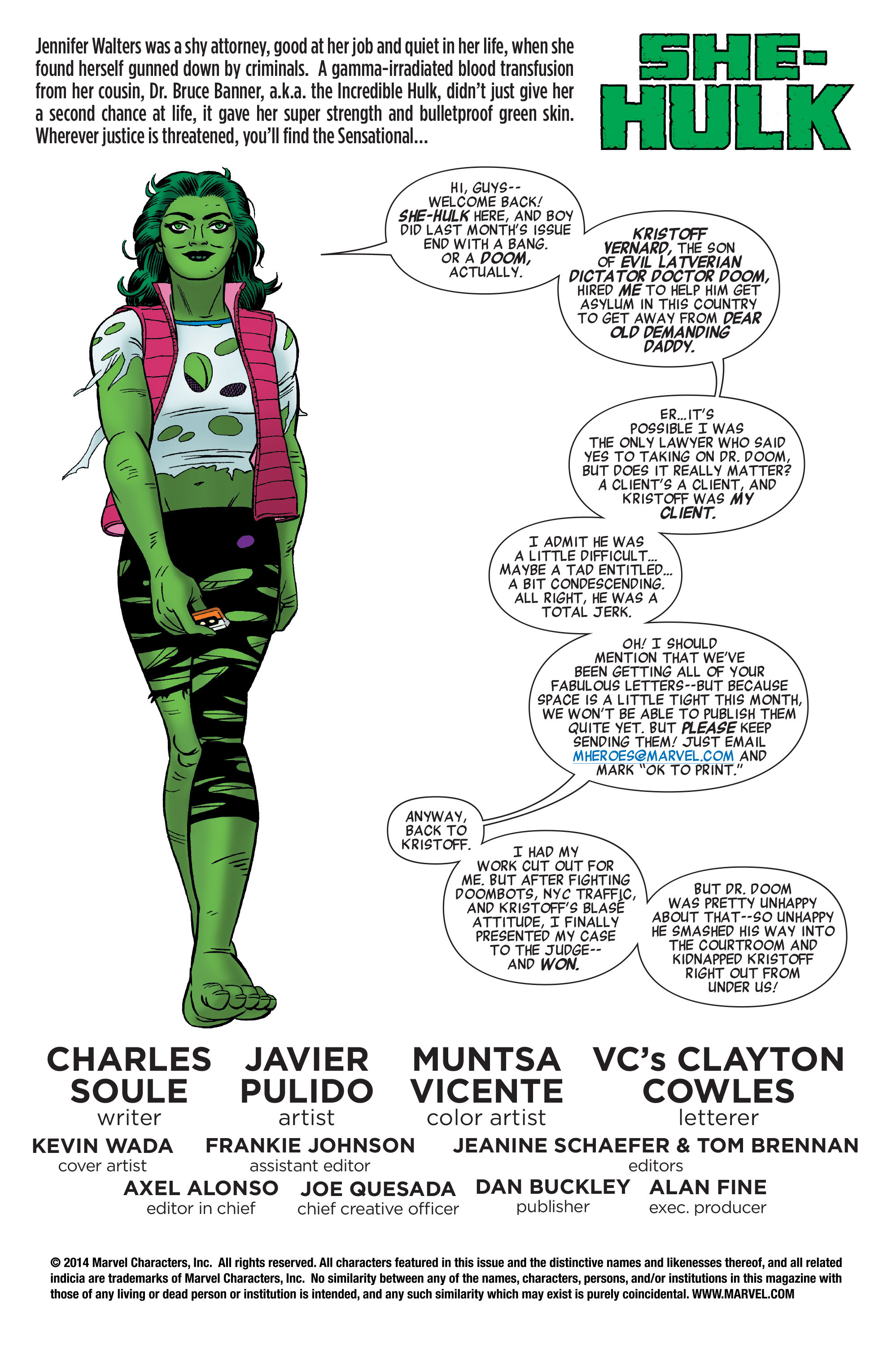 Read online She-Hulk (2014) comic -  Issue #4 - 2