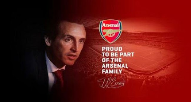 Unai Emery Jadi Pelatih Baru Arsenal
