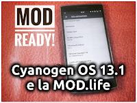 Cyanogen OS 13.1 e la MOD.life