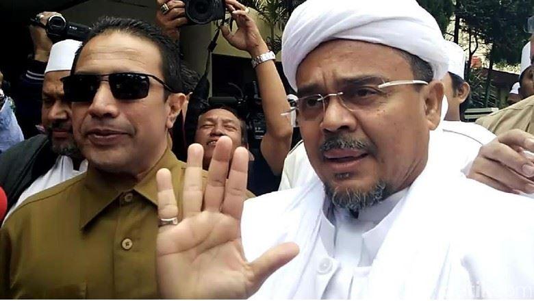 Polisi Tetapkan Habib Rizieq Jadi Tersangka Kasus Pornografi