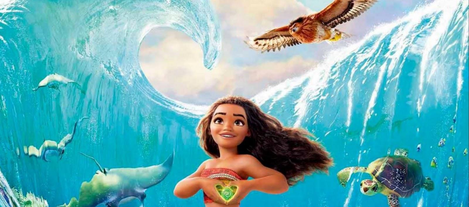 Critique Avis mes trois dernières sorties cinéma Vaiana
