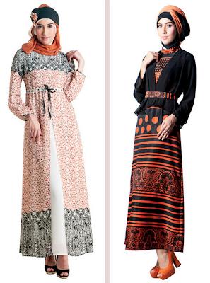 Model Baju Muslim Gamis Brokat Untuk Pesta Terbaru