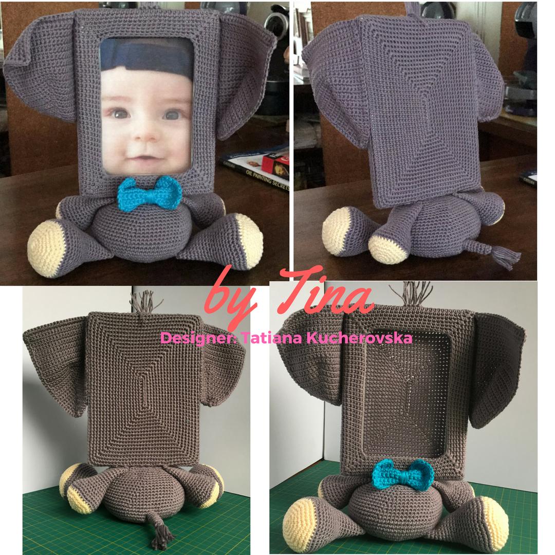 Elefante amigurumi . . ??… – Fazer Crochê | 1080x1080
