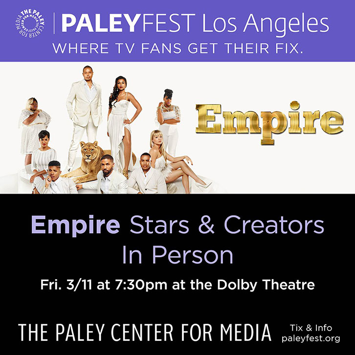 Questions for the Cast and Creators of Empire at PaleyFest