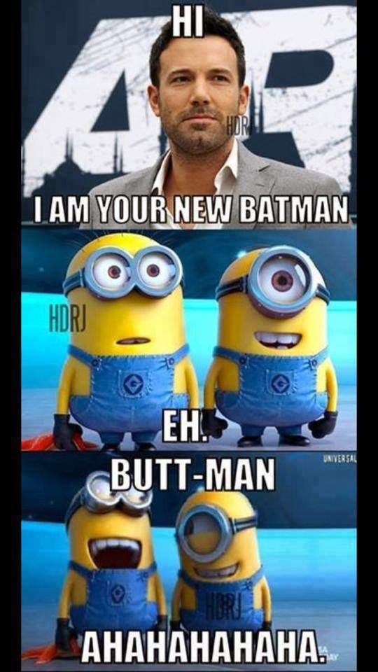 Ben Affleck is the new Batman funny